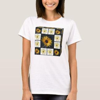 Boxed Sunflower Women's Shirt