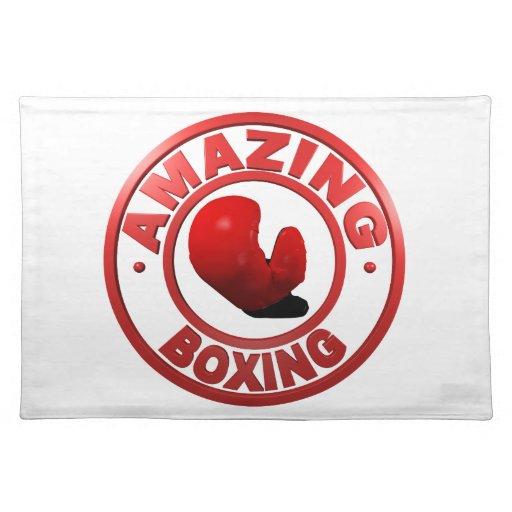 Boxeo asombroso manteles