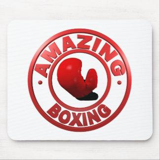 Boxeo asombroso tapetes de raton
