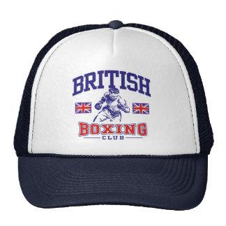 Boxeo británico gorro de camionero