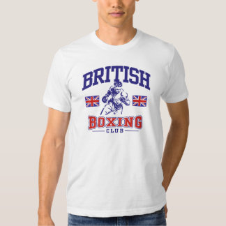 Boxeo británico playera