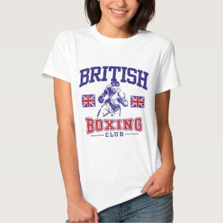 Boxeo británico polera