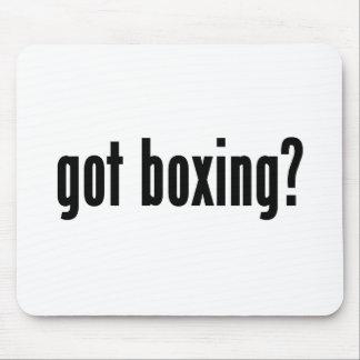 ¿boxeo conseguido tapetes de raton