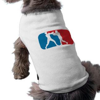 Boxeo de la primera división playera sin mangas para perro
