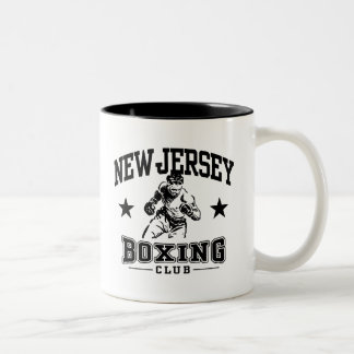 Boxeo de New Jersey Taza