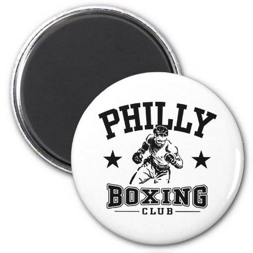Boxeo de Philly Imán De Frigorifico