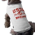 Boxeo de URSS Prenda Mascota