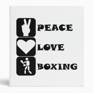Boxeo del amor de la paz