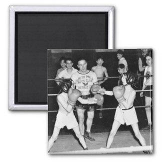 Boxeo del sur del club de los muchachos de Philly, Imán Cuadrado