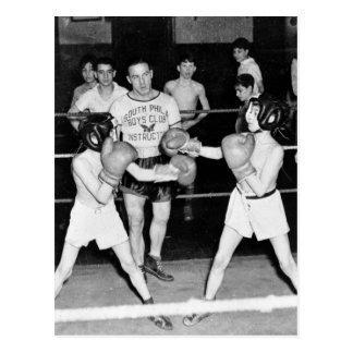 Boxeo del sur del club de los muchachos de Philly, Tarjetas Postales