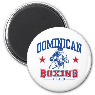 Boxeo dominicano imanes de nevera