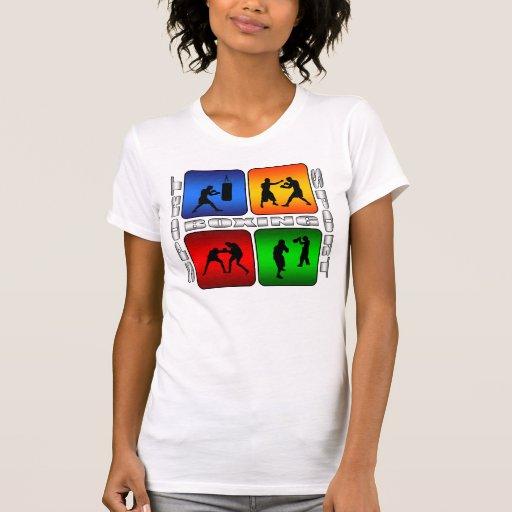 Boxeo espectacular camisas