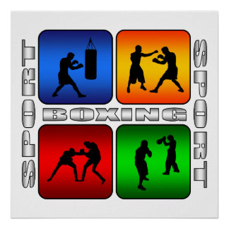 Boxeo espectacular impresiones
