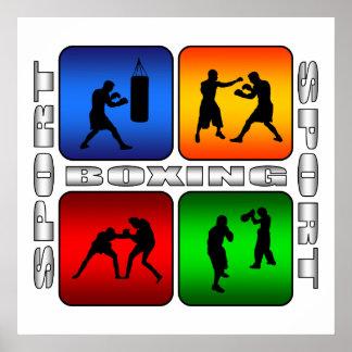 Boxeo espectacular póster