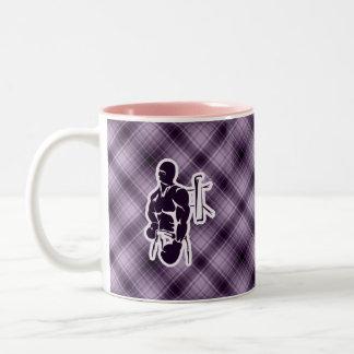 Boxeo púrpura taza