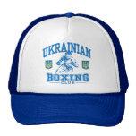 Boxeo ucraniano gorros bordados
