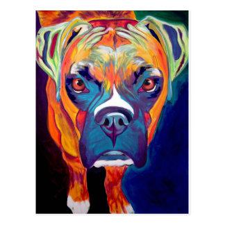 Boxer #1 postcard