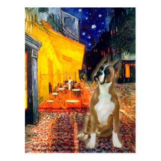 Boxer 1cr - Terrace Cafe Postcard