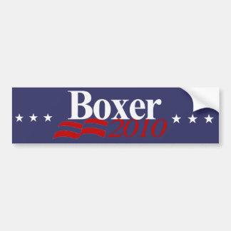 Boxer 2010 bumper sticker