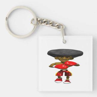 Boxer 3 keychain