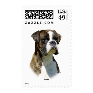 Boxer 9P41D-077oval Stamps