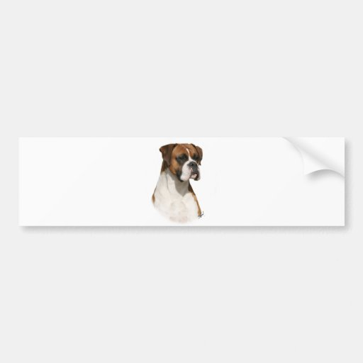 Boxer 9Y349D-079 Bumper Sticker