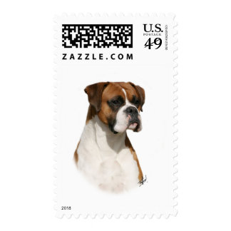 Boxer 9Y349D-079 Postage Stamps