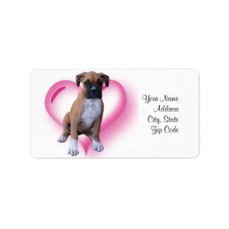 Boxer Address labels