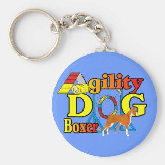 Boxer Agility Keychain