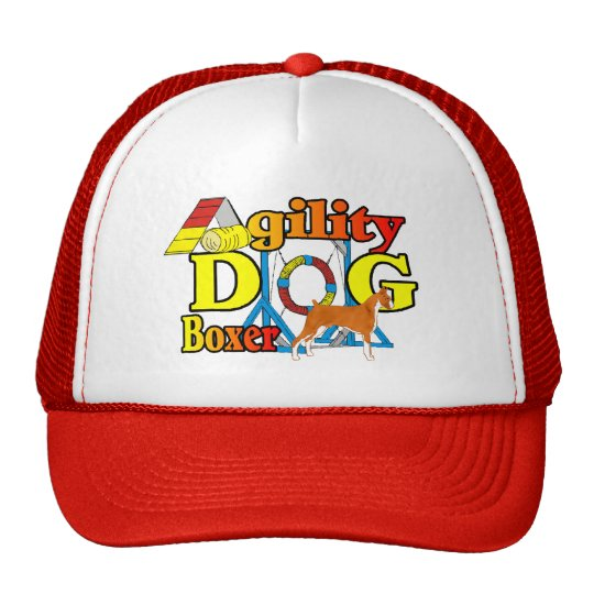 Boxer Agility Trucker Hat
