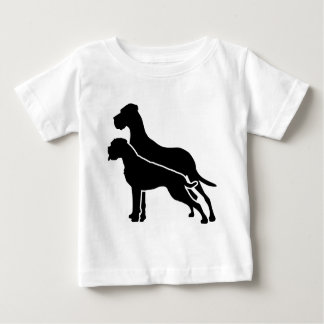 Boxer and great dane tshirt
