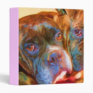 Boxer Art binder