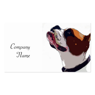 Boxer Art Business Cards