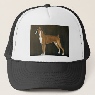 Boxer Art Hat
