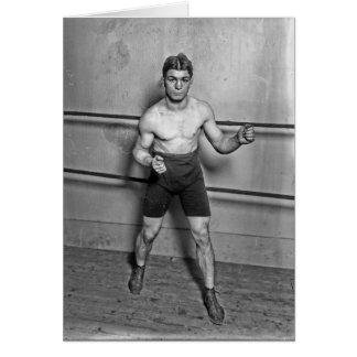 Boxer Auguste Grassi (1920) Card