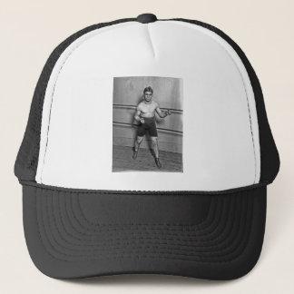 Boxer Auguste Grassi (1920) Trucker Hat
