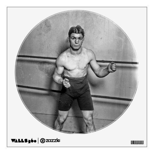 Boxer Auguste Grassi (1920) Room Graphic