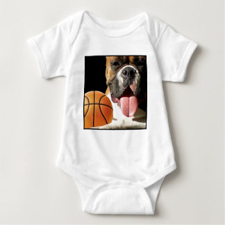 Boxer Basketball baby shirt