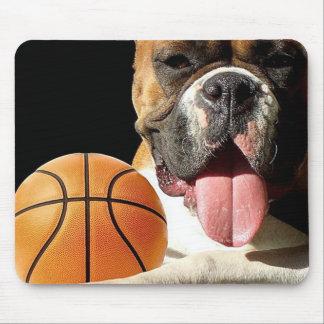 Boxer Basketball mousepad