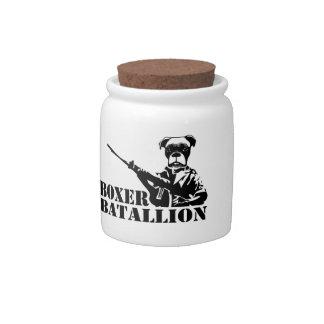 Boxer Batallion Candy Dishes