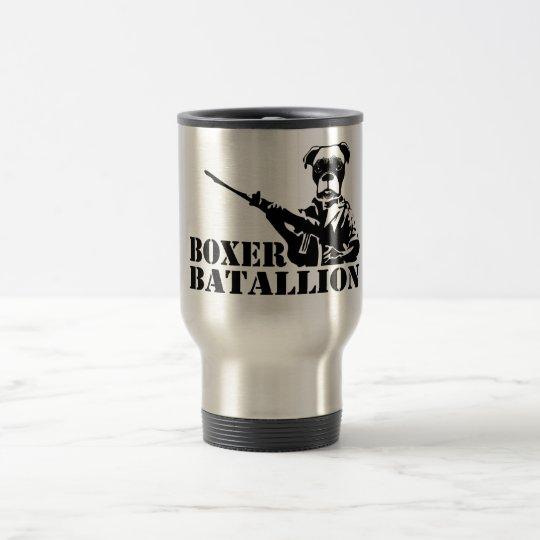 Boxer Batallion Travel Mug