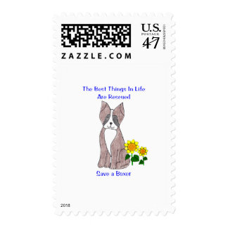 Boxer Best Things In Life Postage