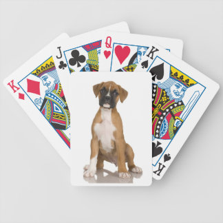 Boxer Bicycle Playing Cards