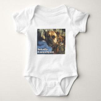 Boxer:  Big Stick Baby Bodysuit