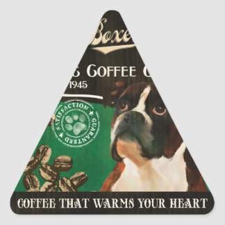 Boxer Brand – Organic Coffee Company Triangle Sticker