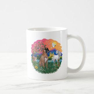 Boxer (brown - natural) coffee mug
