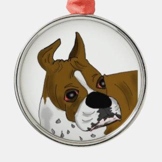 Boxer Bulldog Ornament