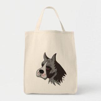 boxer bulldog toat bag