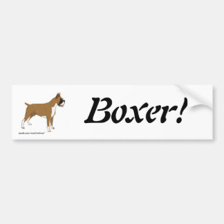 Boxer! Bumper Sticker