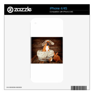 Boxer Bunny iPhone 4 Decal